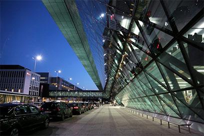 Nástupné miesta na letisko Krakow a Katowice